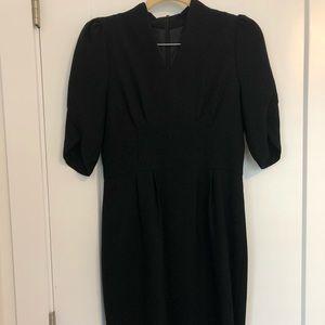 Black high waist dress (XS petite)